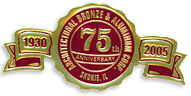 75th anniversary seal