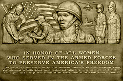 WomenVeteransPlaque
