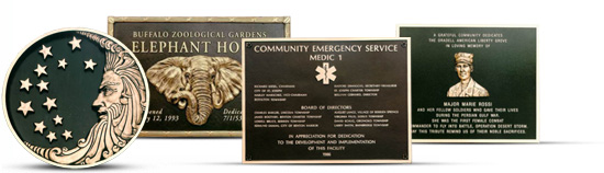 Cast Bronze Plaques Header Image