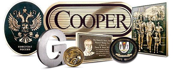 Bronze Plaques: Just a samples of our capabilities. Browse, than contact us with your needs.
